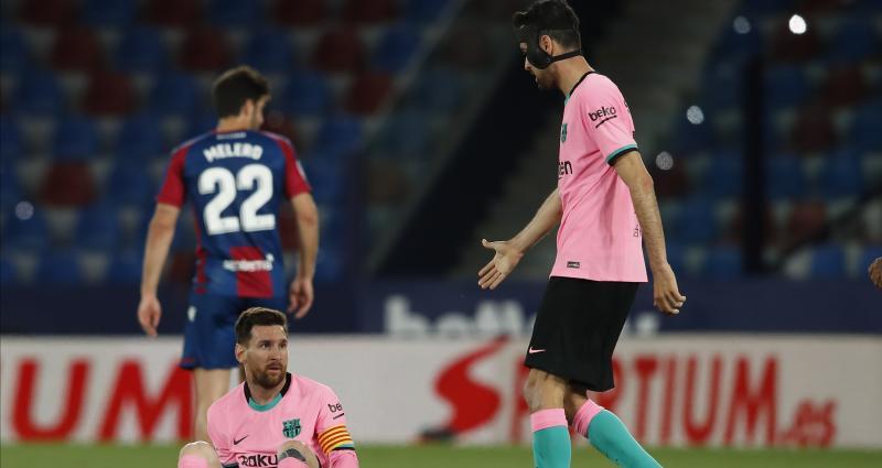 Résultat Liga: le Barça accroché à Levante, le titre s'envole
