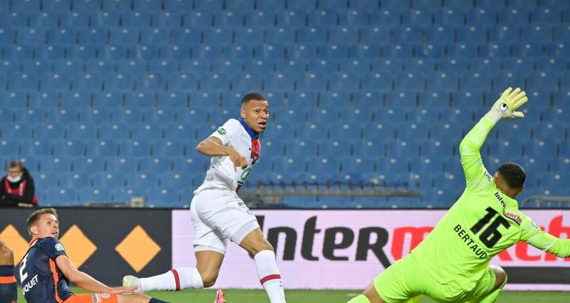 Coupe de France : MHSC 1-1 PSG (mi-temps)