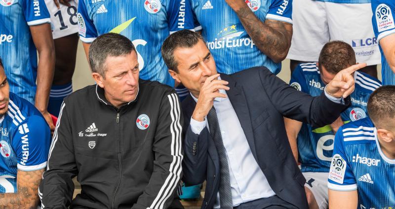 RC Strasbourg: ça chauffe entre Laurey et le vestiaire, Marc Keller arbitre!