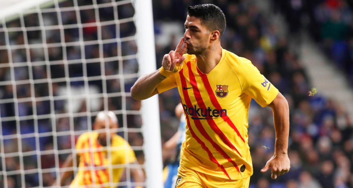 FC Barcelone: le coronavirus fait les affaires de Luis Suarez