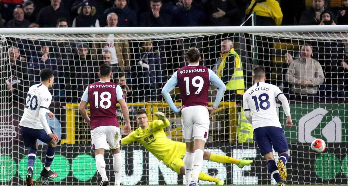Résultat Premier League : Tottenham ne ramène qu'un point de Burnley (1-1)