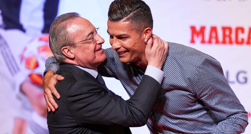 Real Madrid- Mercato: Cristiano Ronaldo et Florentino Perez ont renoué le contact
