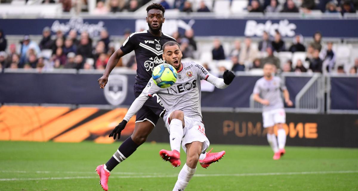 Résultat Ligue 1 : les Girondins n'ont pas tenu face à Nice (1-1)