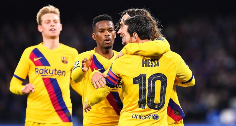 SSC Napoli - FC Barcelone (1-1) : au pays de Maradona, Messi s'est fait tout petit