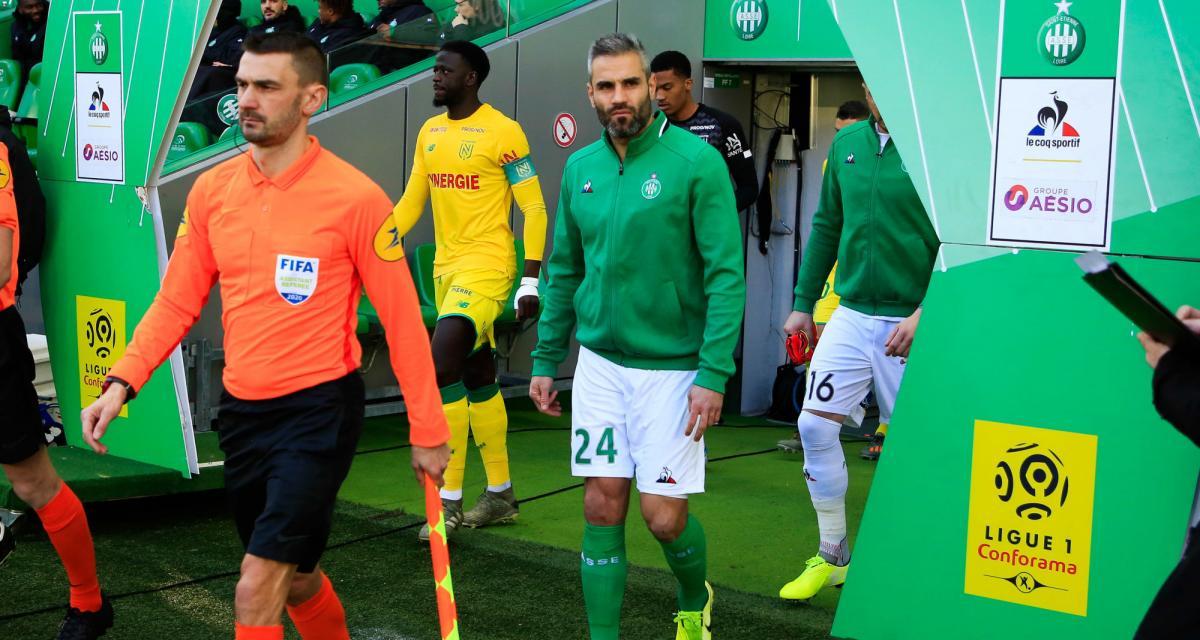 ASSE: Youssouf a été opéré des croisés, blessure bénigne pour Perrin?