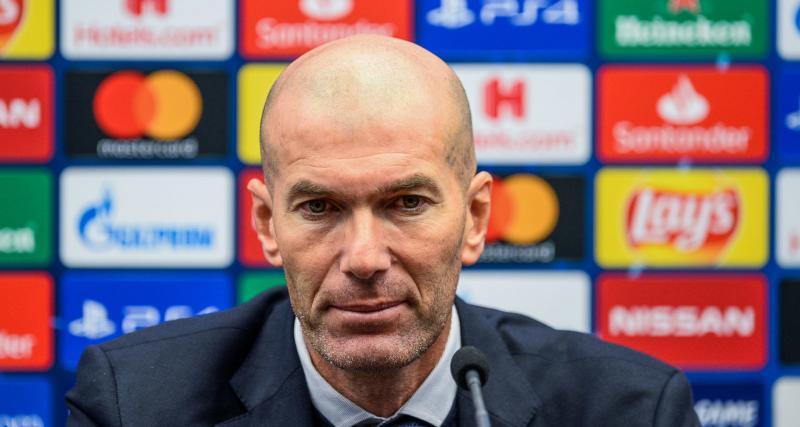 Real Madrid: Zinédine Zidane a un renfort inattendu pour Manchester City