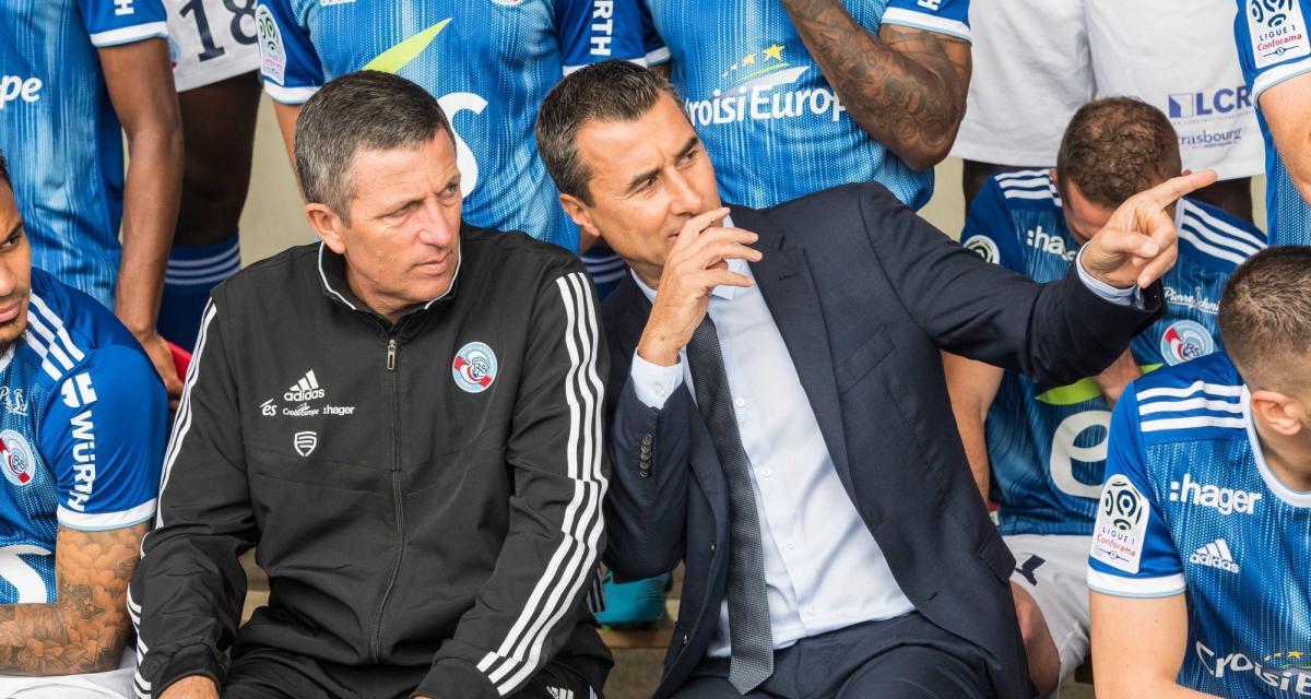 FC Metz - RC Strasbourg (1-0) : Laurey au du mal à avaler la pilule