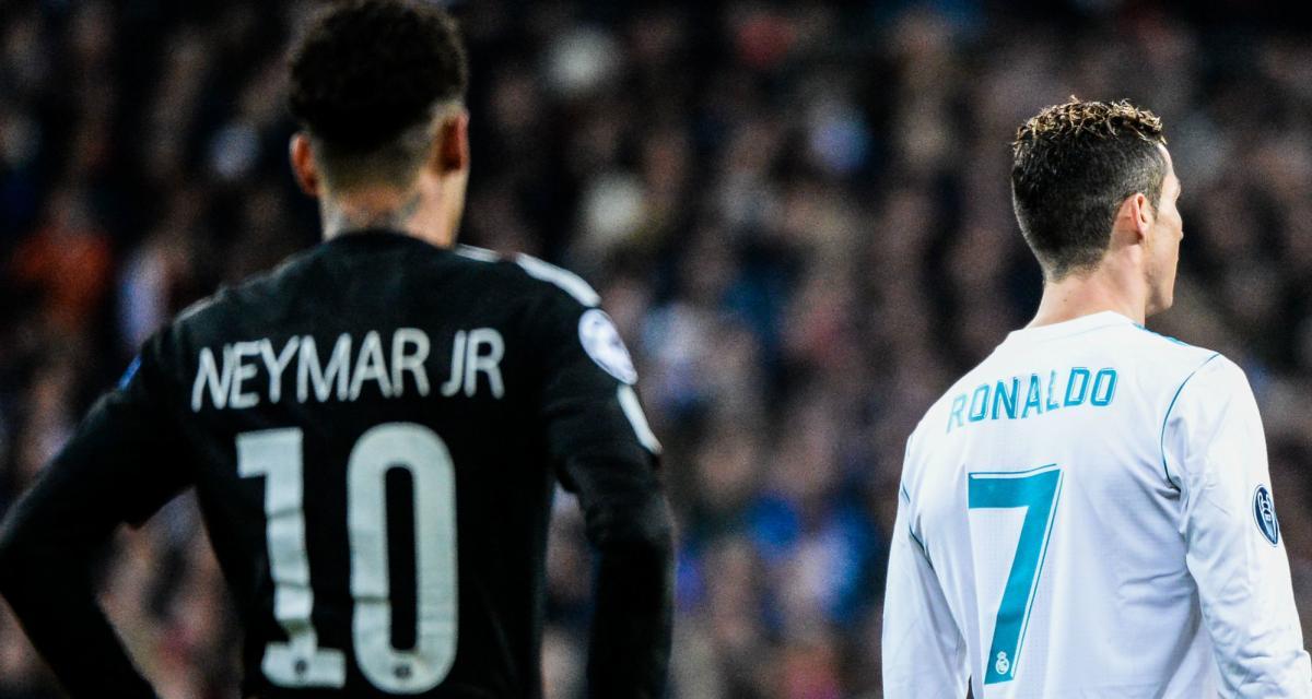 PSG : Neymar prive Cristiano Ronaldo d'une distinction qui le fait saliver