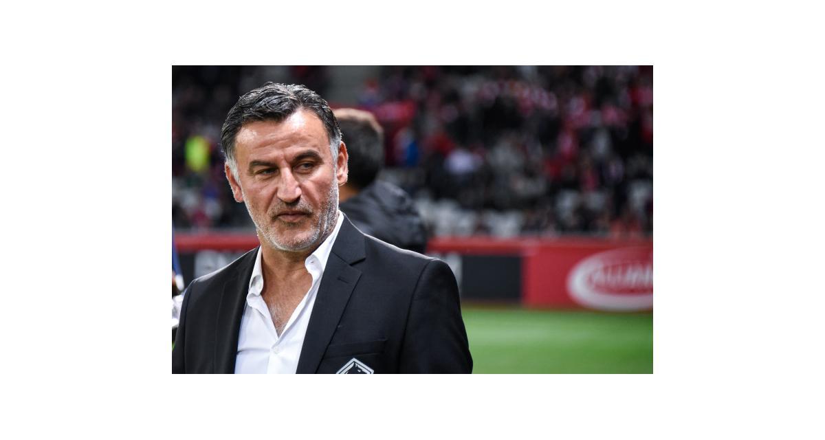 LOSC – RC Strasbourg(2-0): turn-over, Osimhen...Galtier affiche plusieurs satisfactions