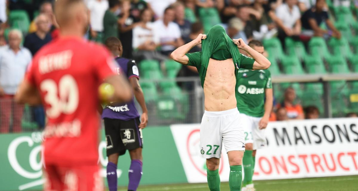 ASSE - Toulouse FC (2-2) : Pierre Ménès accable l'arbitre et tacle deux Verts