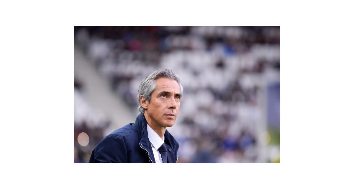 Girondins : Paulo Sousa rassure sur son implication future à Bordeaux