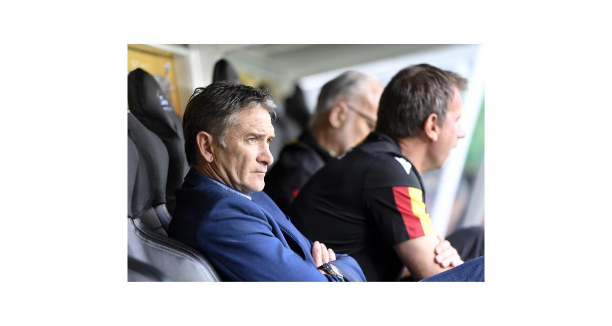 RC Lens : Philippe Montanier a remarqué des progrès à Grenoble