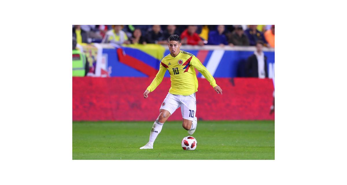 OM - Mercato : il y a du neuf pour James Rodriguez (Real Madrid) !