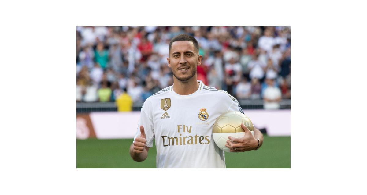 Real Madrid: Eden Hazard traînerait des kilos superflus!