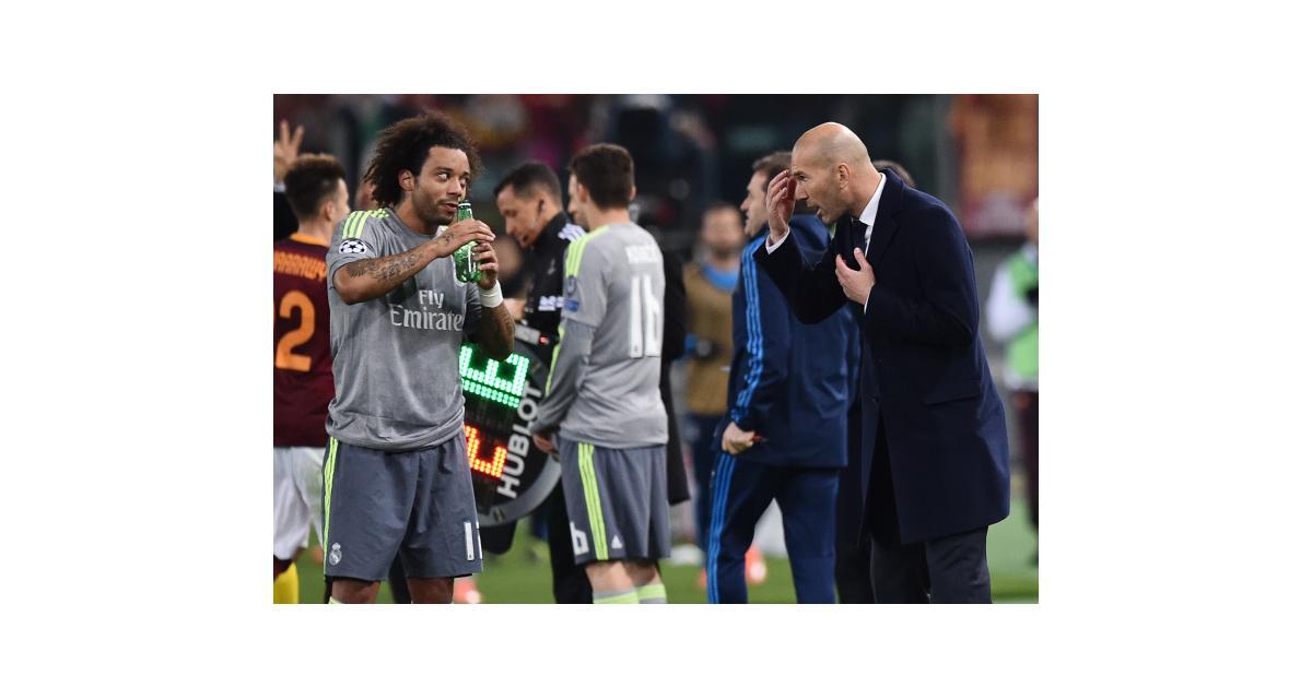 Real Madrid : Marcelo évoque Zidane, Ronaldo et son avenir