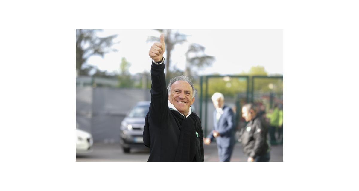 ASSE : Mercato, Bouanga, Saliba, objectifs... Printant fixe le cap et annonce Kolodziejczak