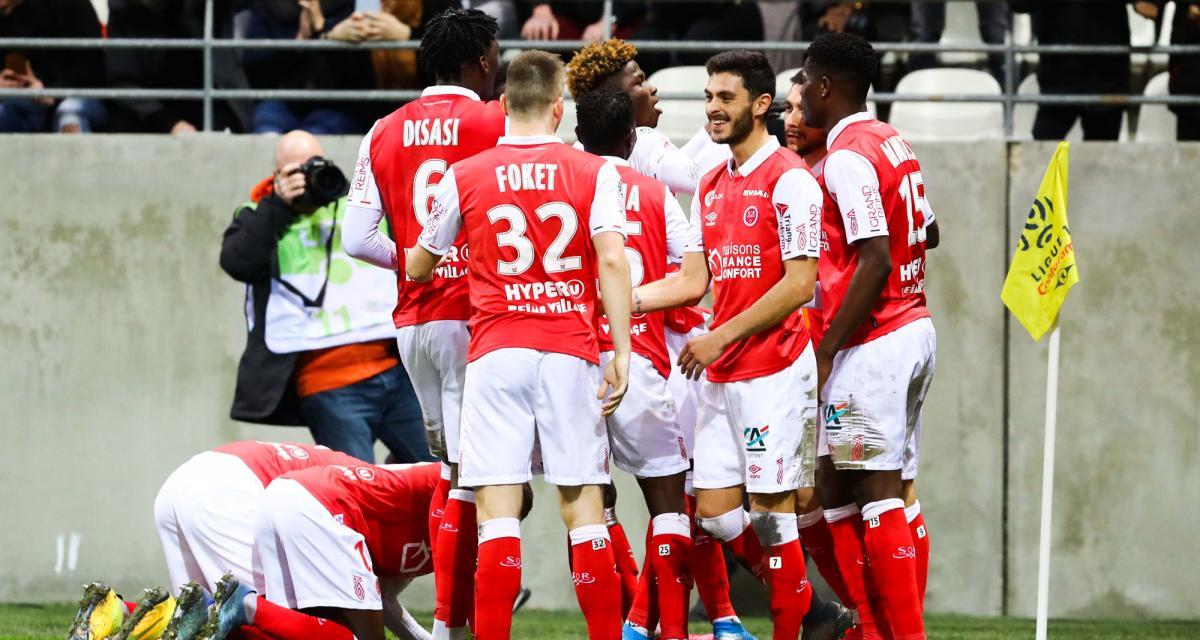 Stade de Reims : Munetsi en bonne forme, Cafaro à la traîne