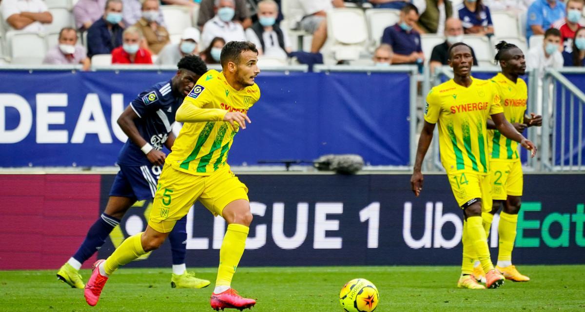 FC Nantes : le duo Louza - Chirivella a affiché ses premières limites à Bordeaux
