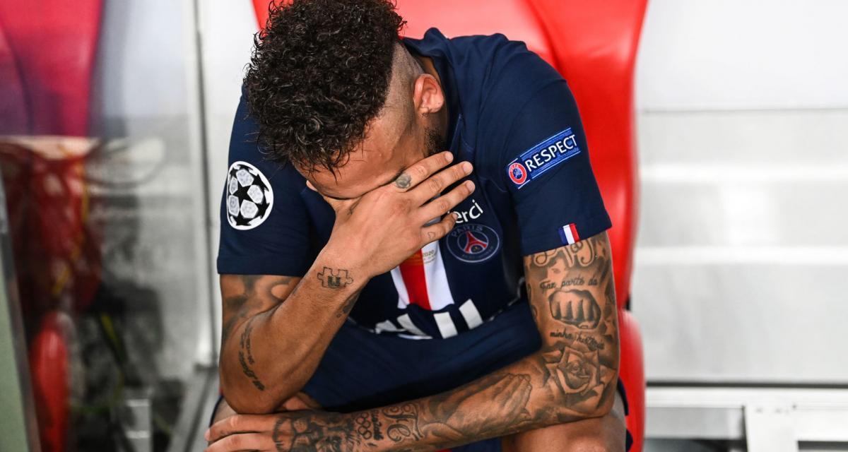 PSG - Bayern (0-1) : la fin de soirée cauchemardesque de Neymar