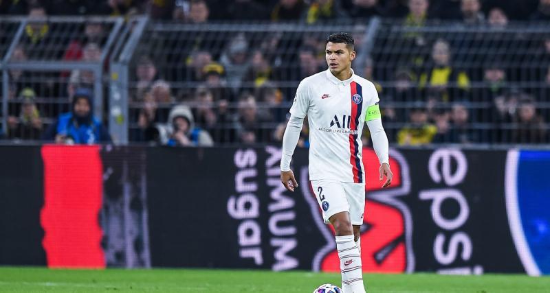 PSG – Mercato: un rebond prestigieux se dessine pour Thiago Silva