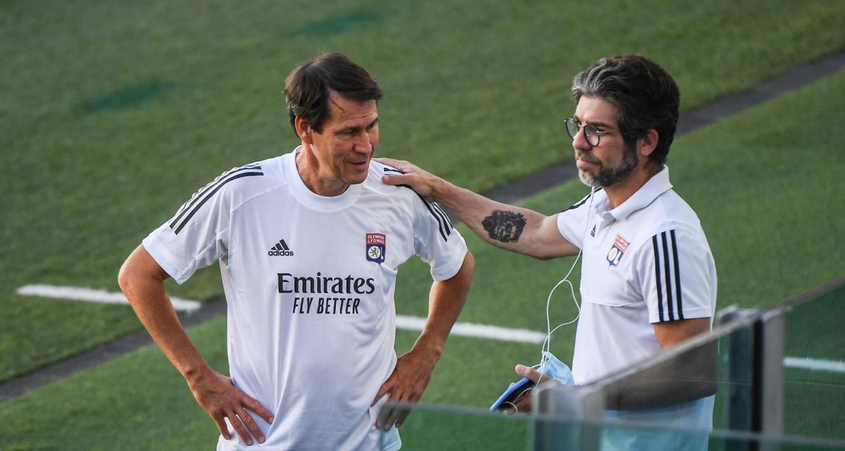 OL - Mercato : Rudi Garcia se veut plus optimiste que Juninho
