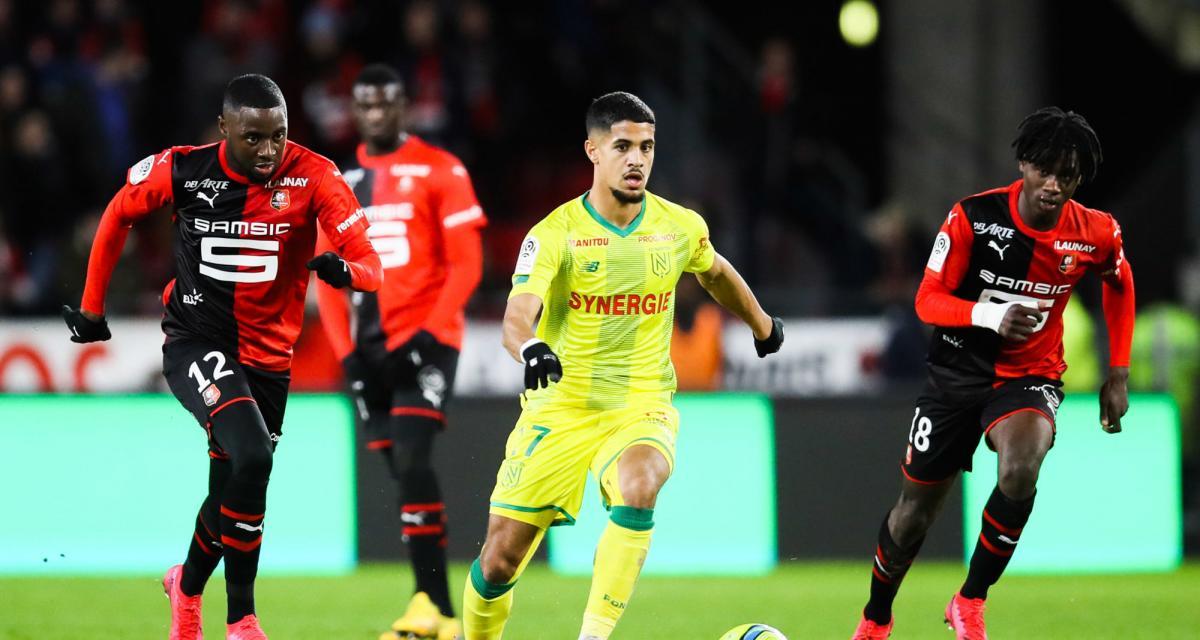 FC Nantes: le groupe pour Bordeaux, avec Blas et Coco