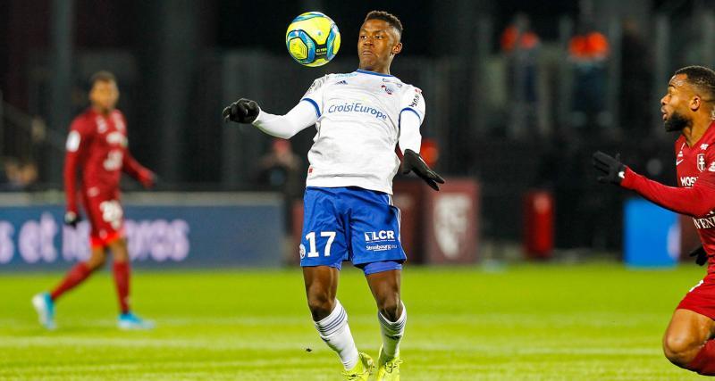 RC Strasbourg – Mercato: un club de Premier League débarque pour Bellegarde
