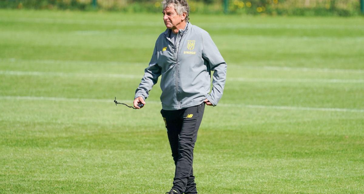 FC Nantes : Gourcuff évoque la difficulté d'une préparation avec la menace du Covid-19