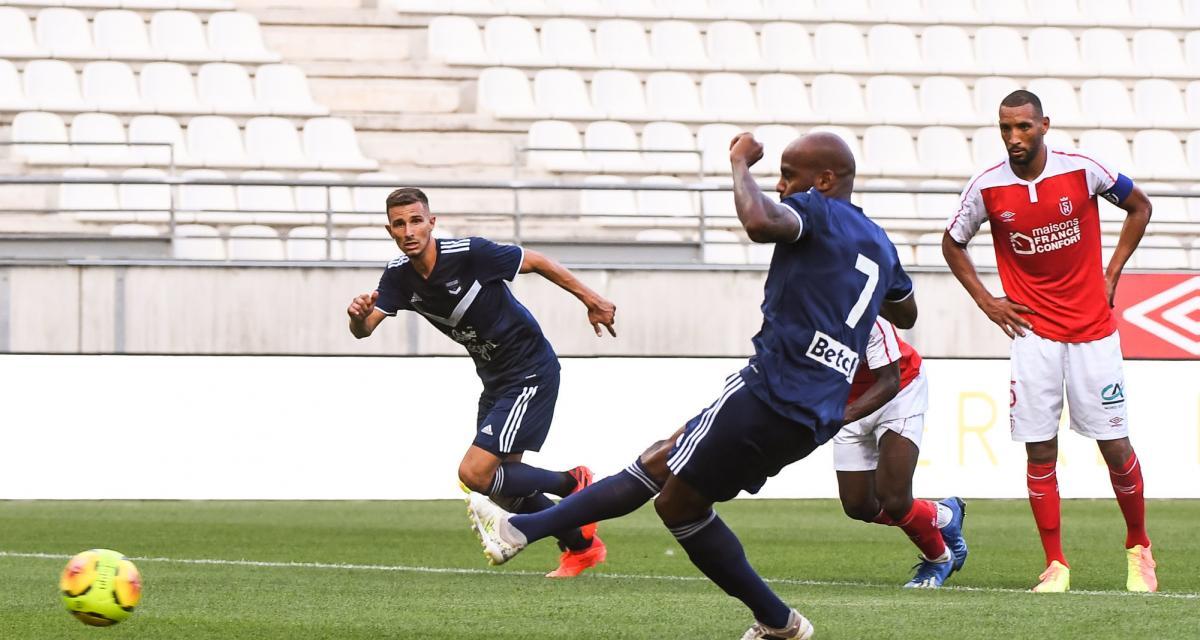 Résultat amical : Stade de Reims 0-4 Girondins de Bordeaux (terminé)