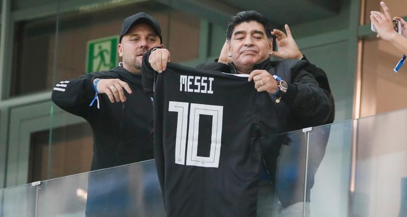 FC Barcelone: le fils de Diego Maradona remet Lionel Messi à sa place!
