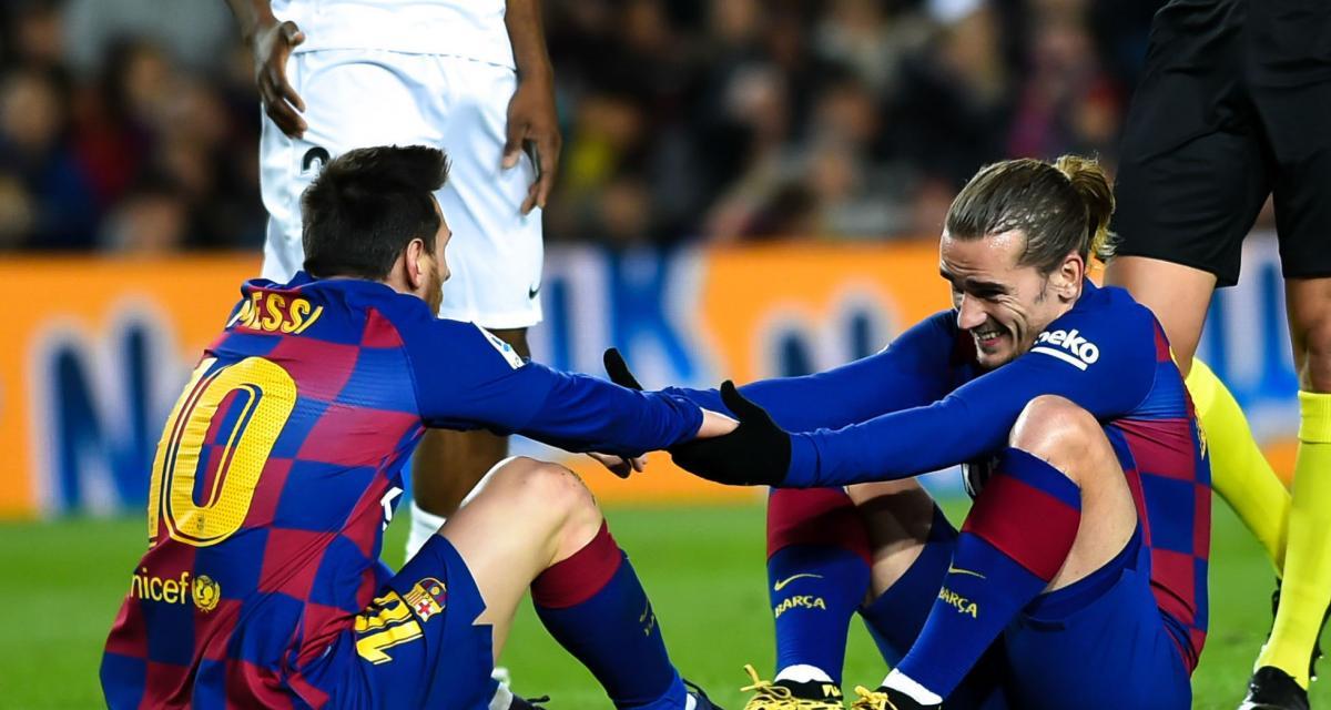 FC Barcelone - Mercato : plus que jamais, Griezmann doit fuir Messi !