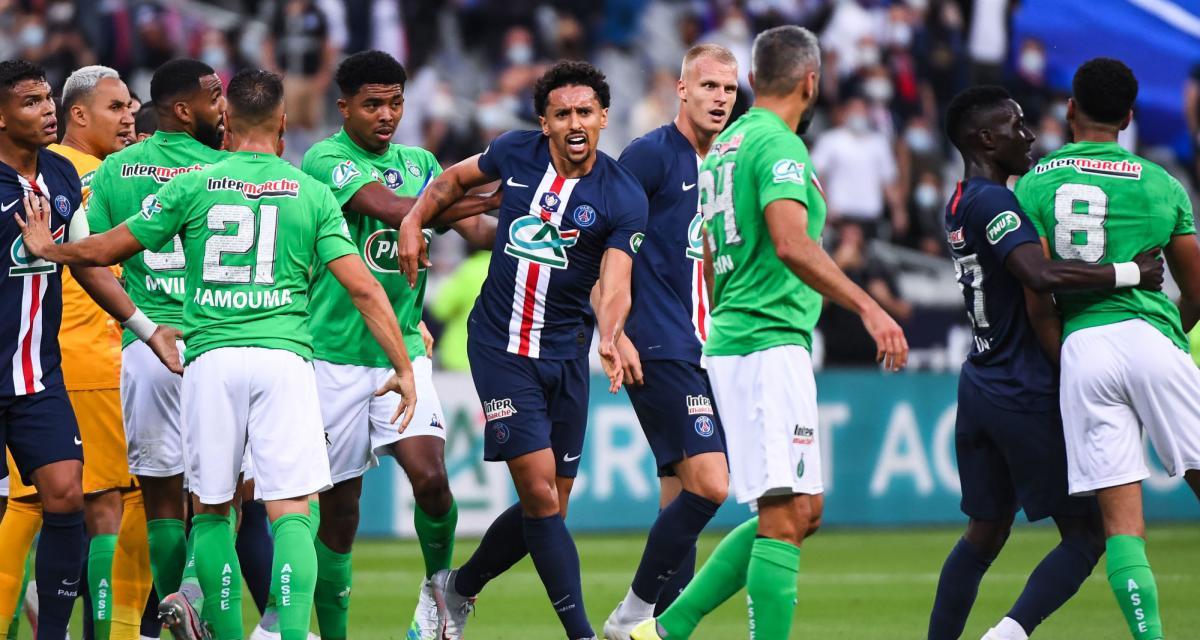 PSG - ASSE (1-0) : les Verts n'ont mis aucune pagaille dans le vestiaire parisien