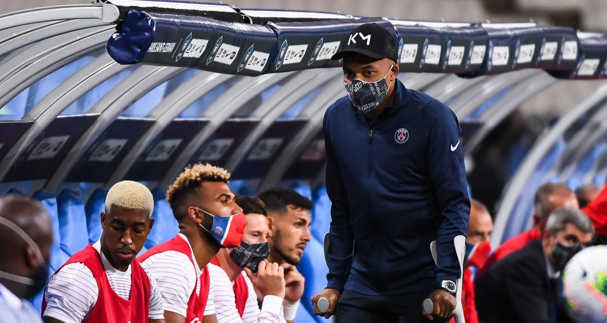 PSG : du nouveau pour la blessure de Kylian Mbappé