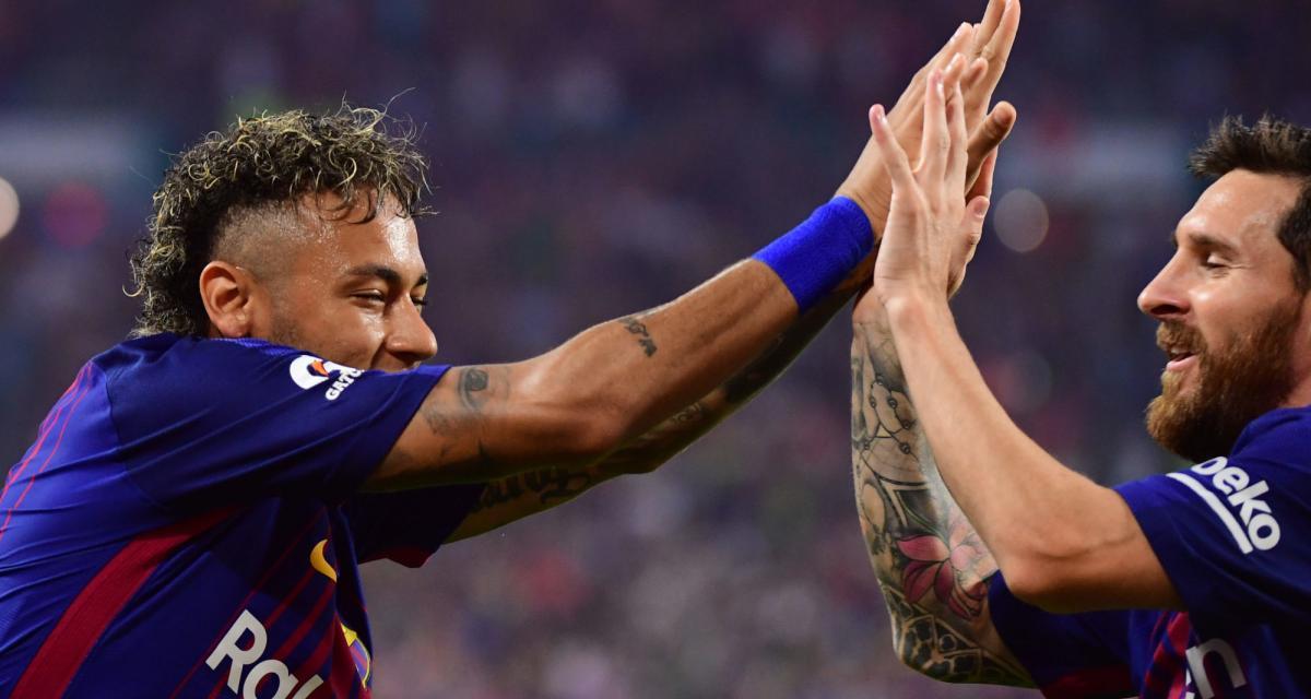 FC Barcelone, PSG: des retrouvailles entre Lionel Messi et Neymar se profilent