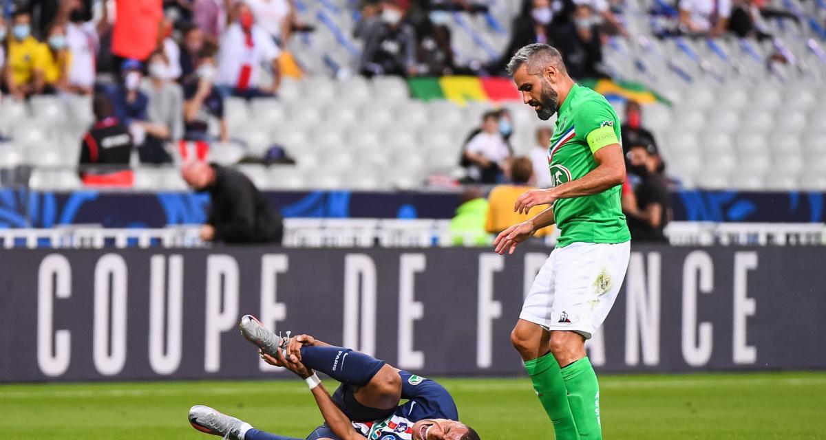 PSG - ASSE (1-0) : grosse inquiétude du staff parisien pour Mbappé