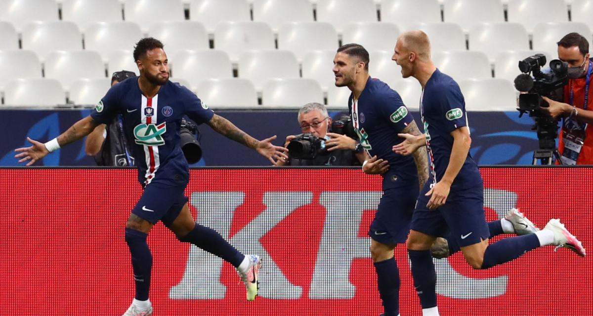 Résultat Coupe de France : le PSG l'emporte sans séduire face à de courageux Verts (1-0)
