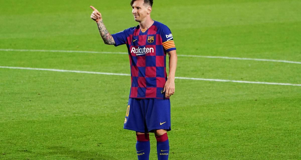 FC Barcelone: pas de Ballon d'Or en 2020... mais le Barça sacre Lionel Messi!