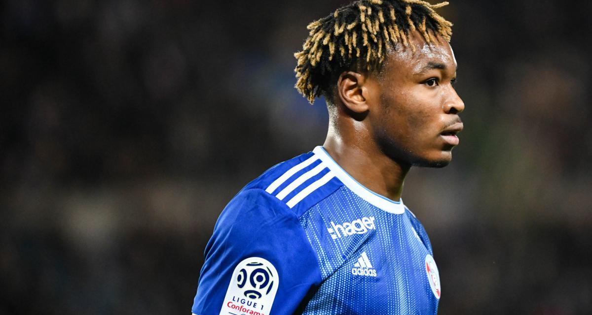 RC Strasbourg, LOSC - Mercato : plus de 15 M€ pour Simakan ?