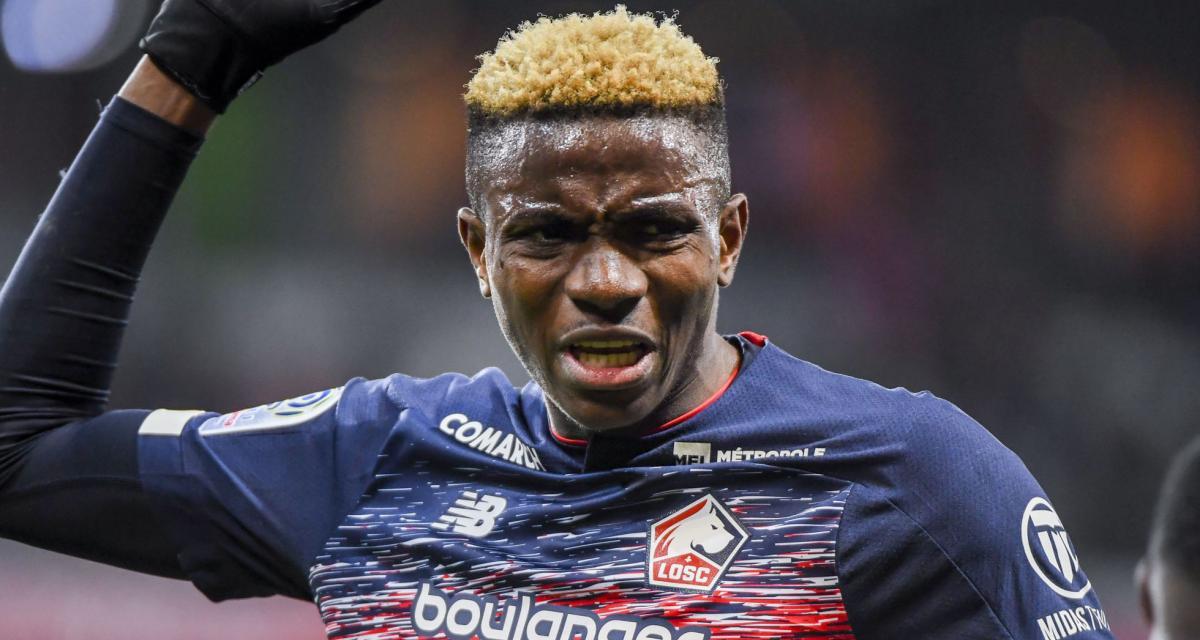 LOSC - Mercato : le Napoli met la pression à Osimhen négociant avec Jovic !