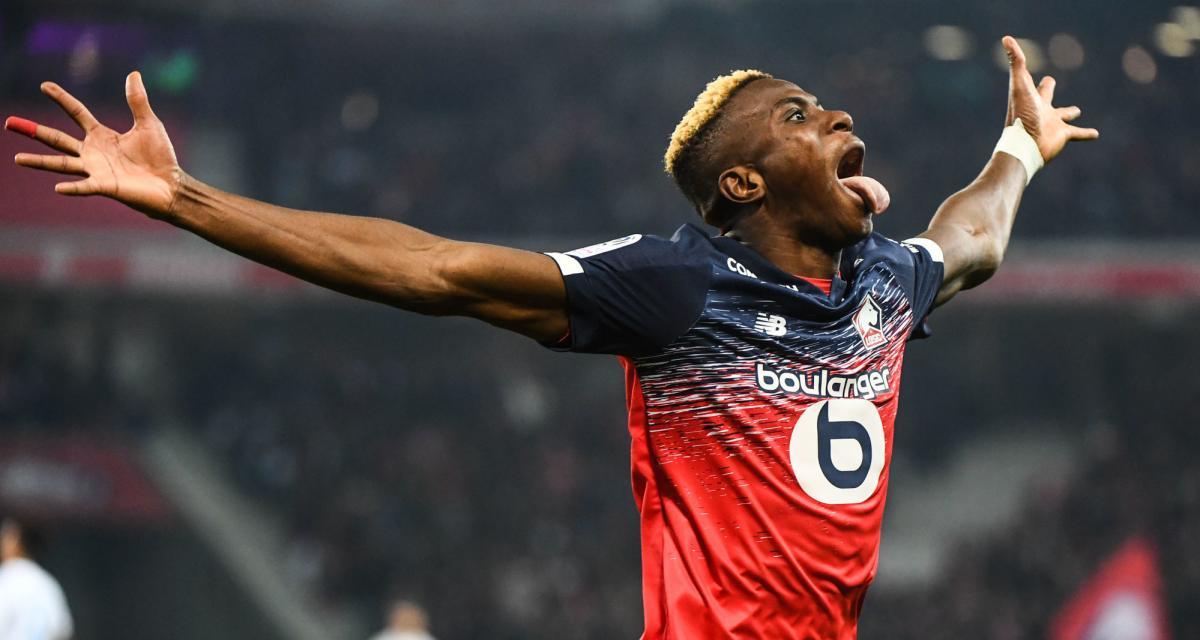 "LOSC - Mercato : Osimhen à Naples, un ""deal sale"" selon Molina"