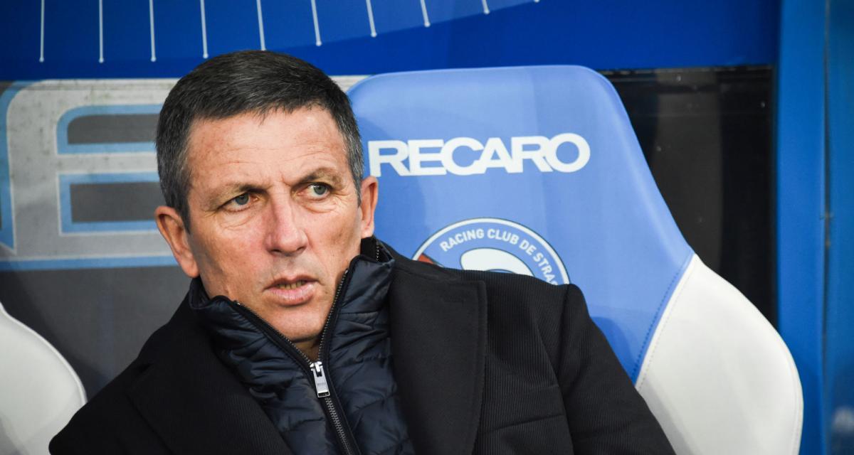 RC Strasbourg : Thierry Laurey perd l'un de ses piliers pour plusieurs mois
