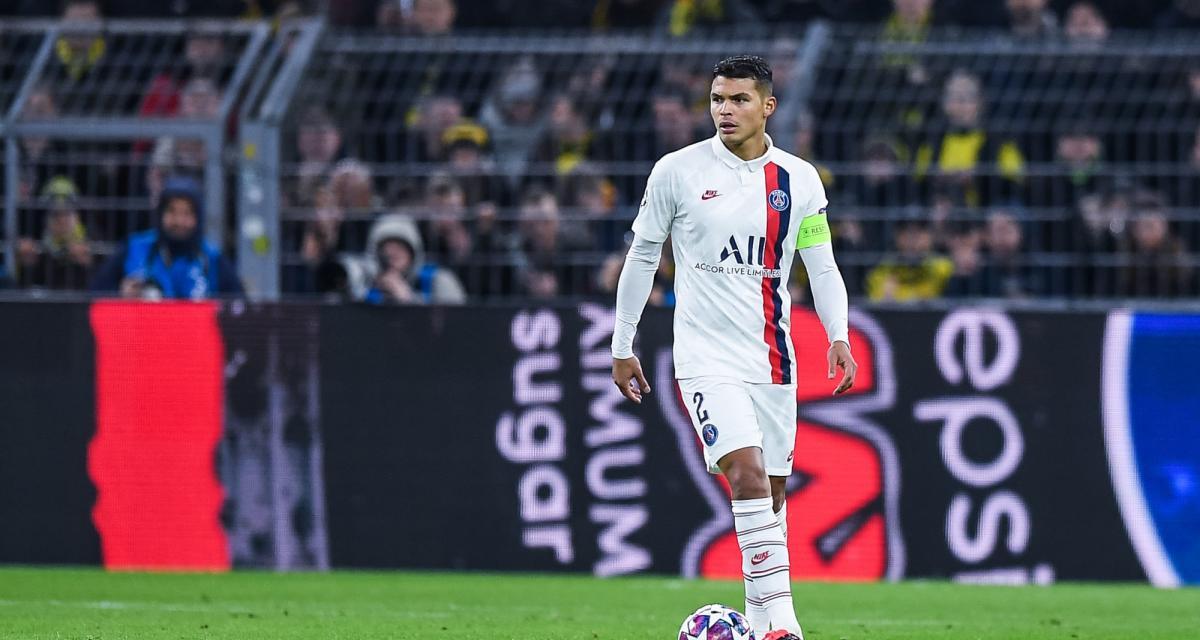 PSG - Mercato : Thiago Silva répond à la rumeur d'une reprise des négociations