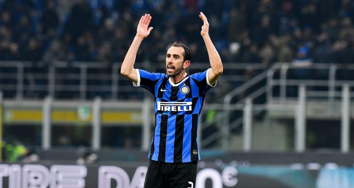 OL - Mercato : Diego Godin jure fidélité à l'Inter Milan