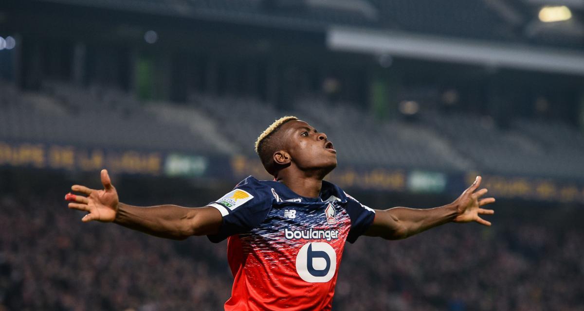LOSC - Mercato : Napoli, Milan, Tottenham… Osimhen aurait (enfin) fait son choix !