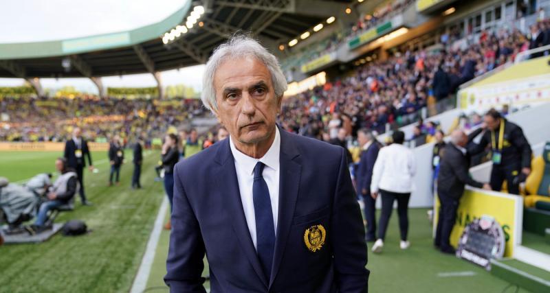 FC Nantes : Vahid Halilhodzic va faire une fleur à un Canari