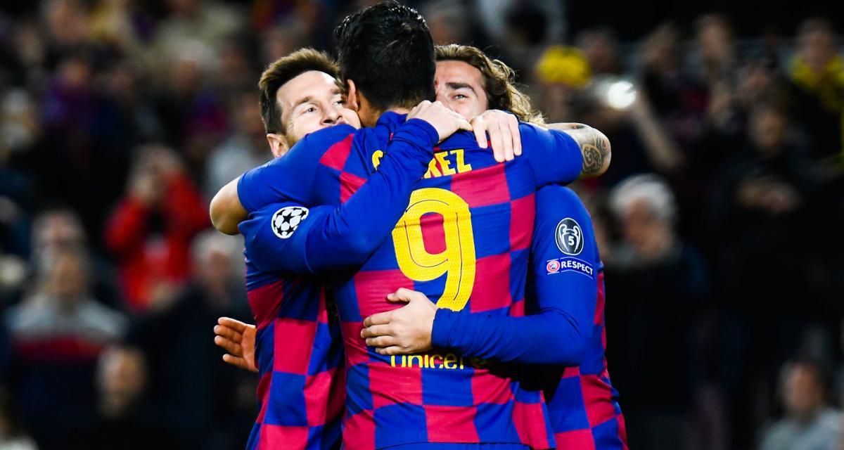 Liga : FC Barcelone - Espanyol, les compos (Griezmann à nouveau titularisé aux côtés de Messi)
