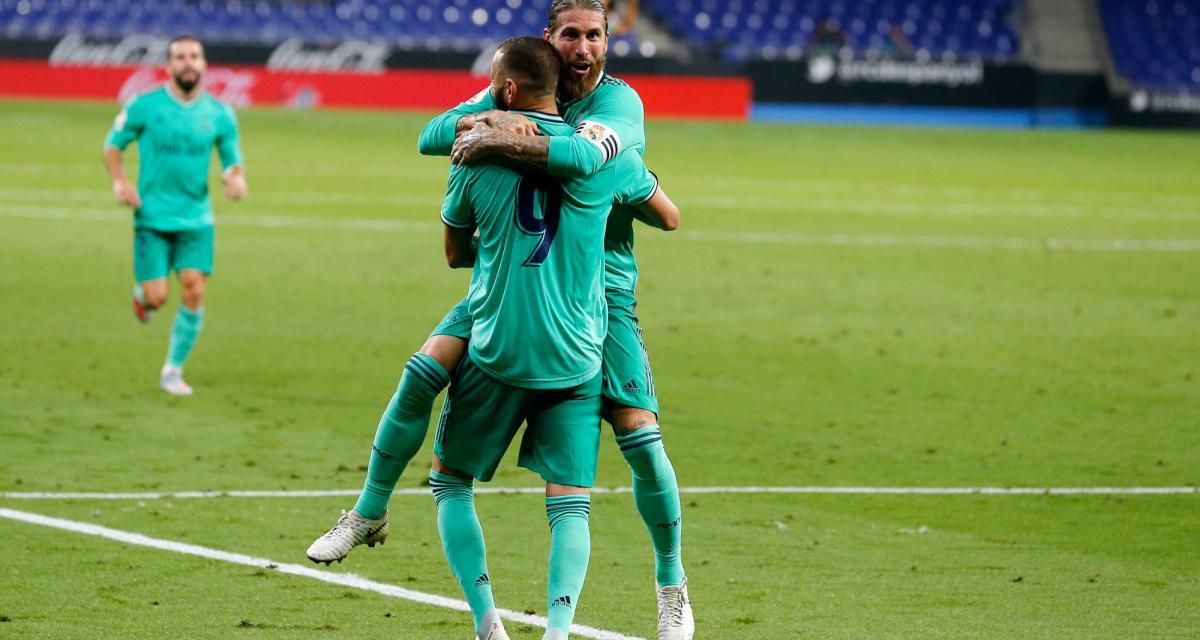 Résultat Liga : le Real Madrid s'impose à l'Espanyol (1-0) et prend ses distances avec le FC Barcelone