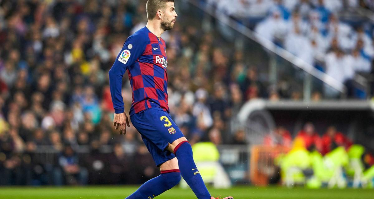FC Barcelone: Piqué fait passer un message avant le match du Real Madrid