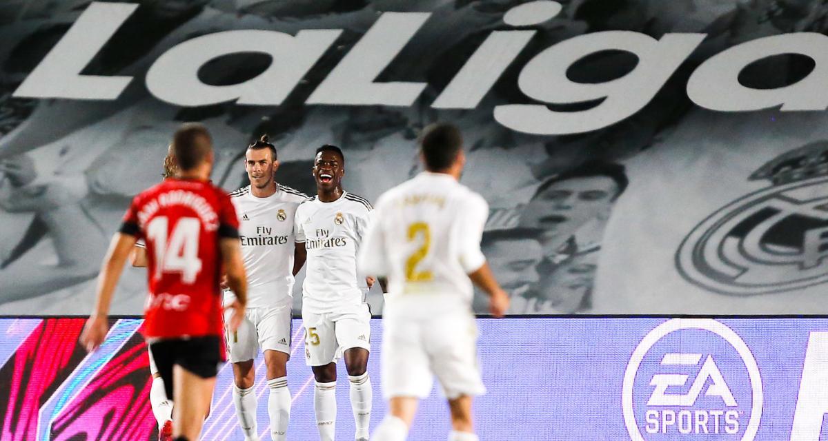 Résultat Liga : Real Madrid 2-0 Majorque (terminé)