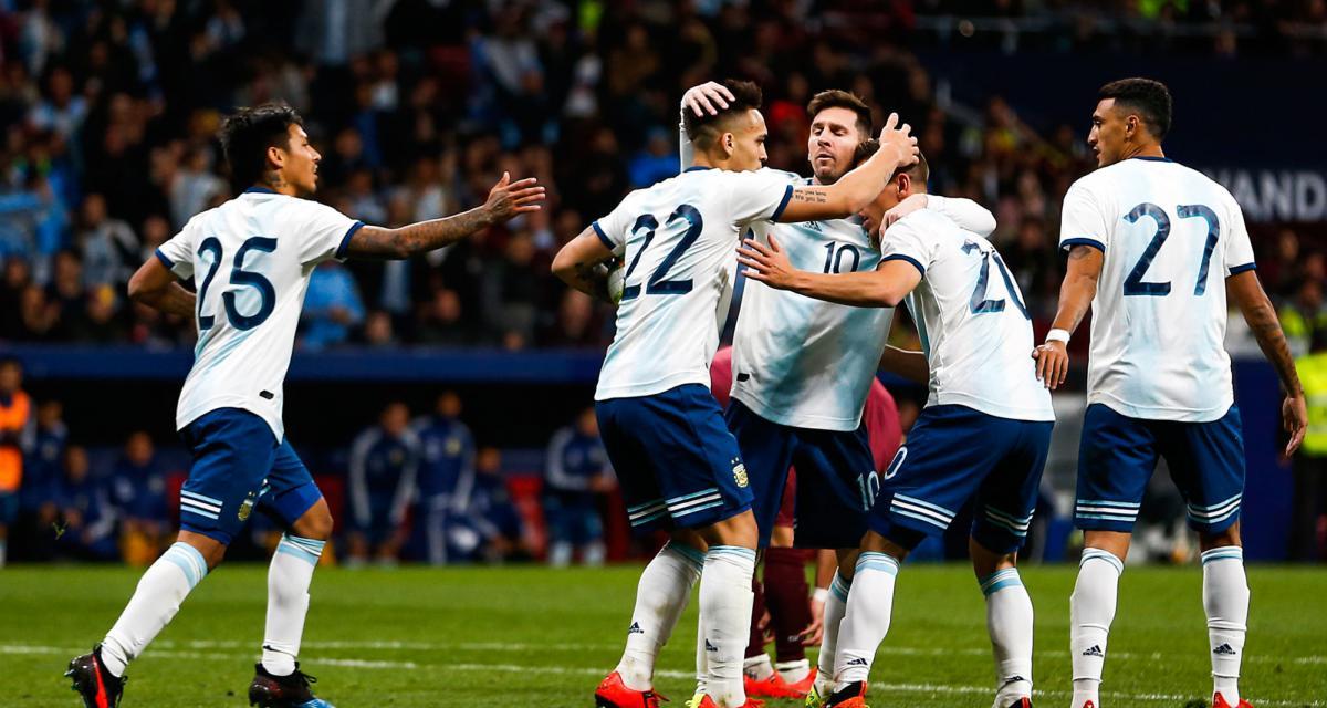FC Barcelone : le sélectionneur argentin rêve du duo Messi - Martinez